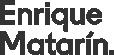 Enrique Matarín. Logo